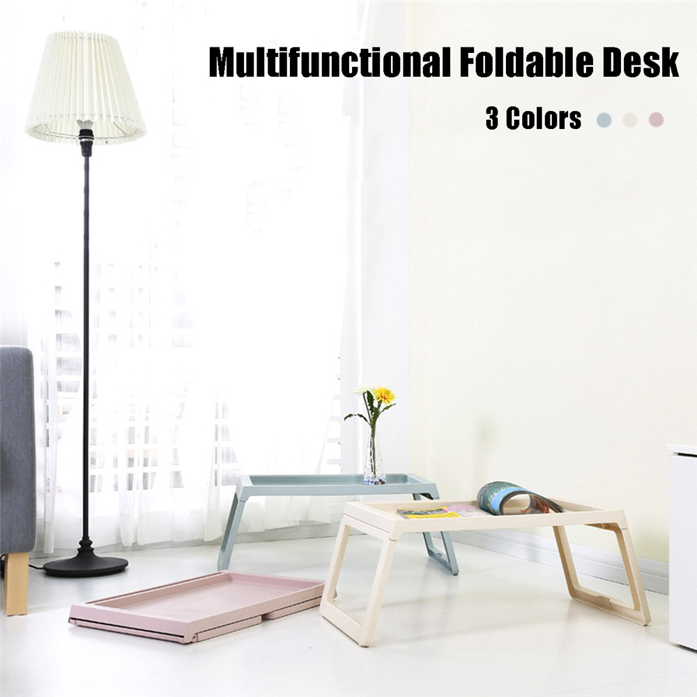 Yunai Portable Foldable Laptop Desk Computer Notebook Stand Simple Multi-Function Table