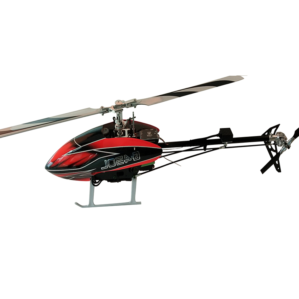 JCZK ASSAULT 450L DFC 6CH 3D Flybarless RC Helicopter Kit With Brushless Motor