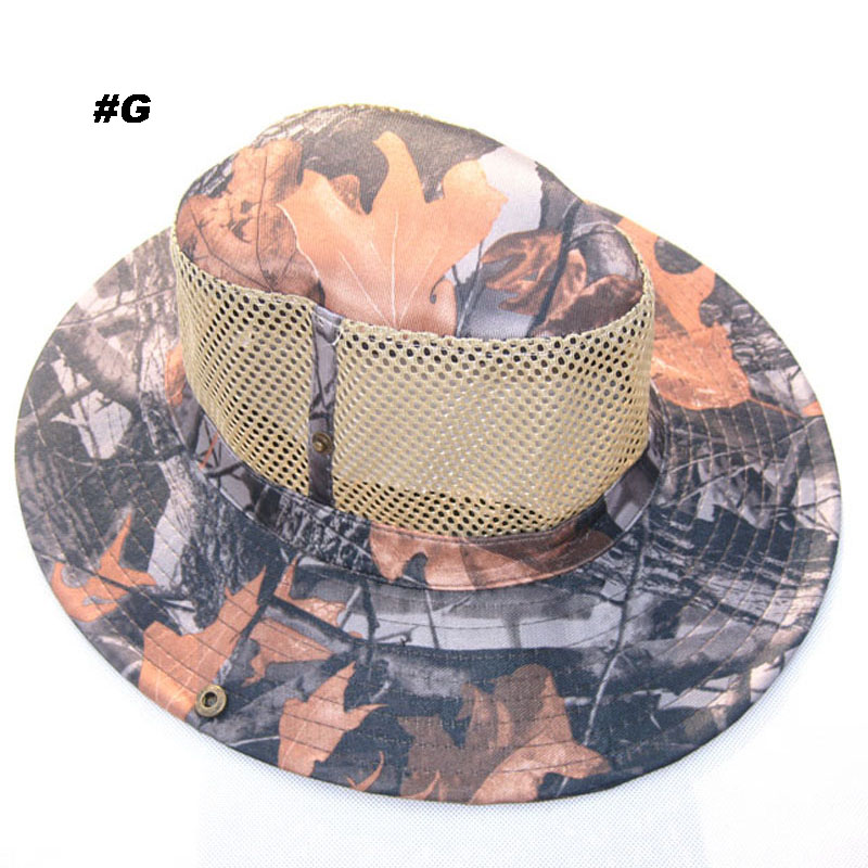 Outdoor Camping Hiking Hat Cap Bush Hat Military Tactical Camo Hat For Hunting