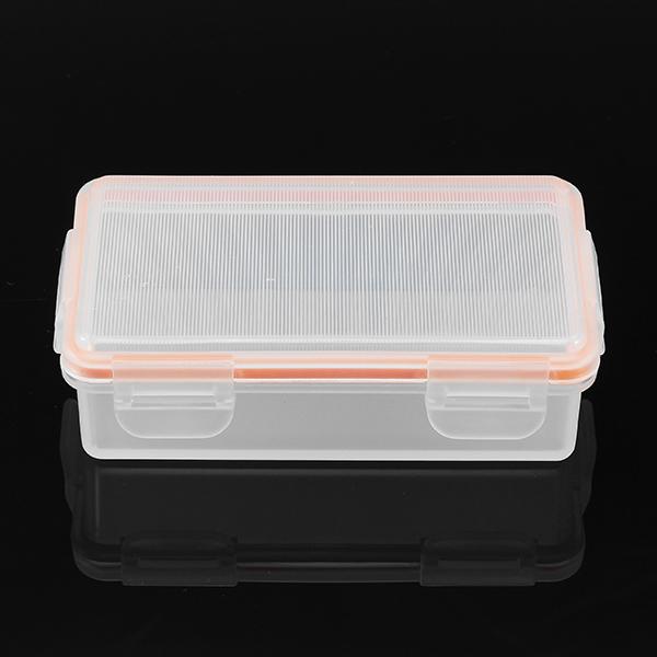 Soshine 2 Slot Waterproof 18650 Battery Storage Case Box