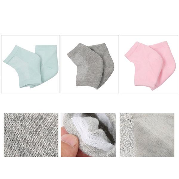 Mesh Gel Anti Drying Heel Socks Feet Protection Socks