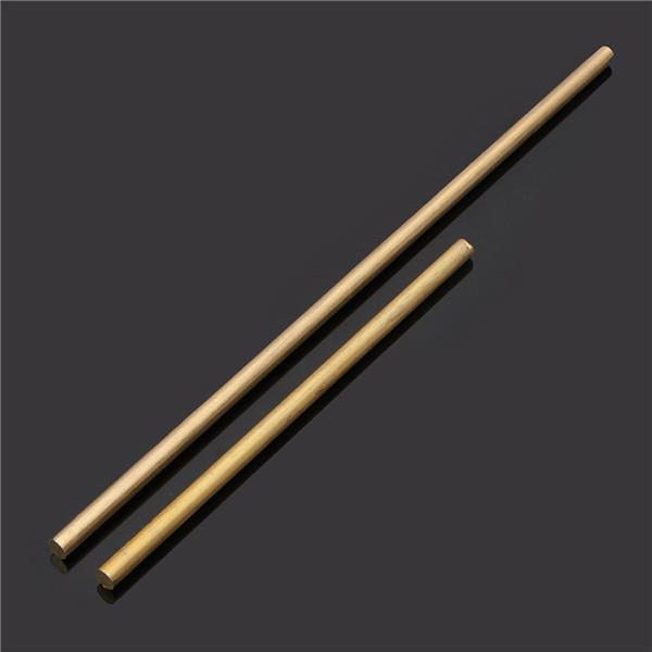 8mm Diameter 100/200/330/500mm Brass Round Bar Rod Circular Tube