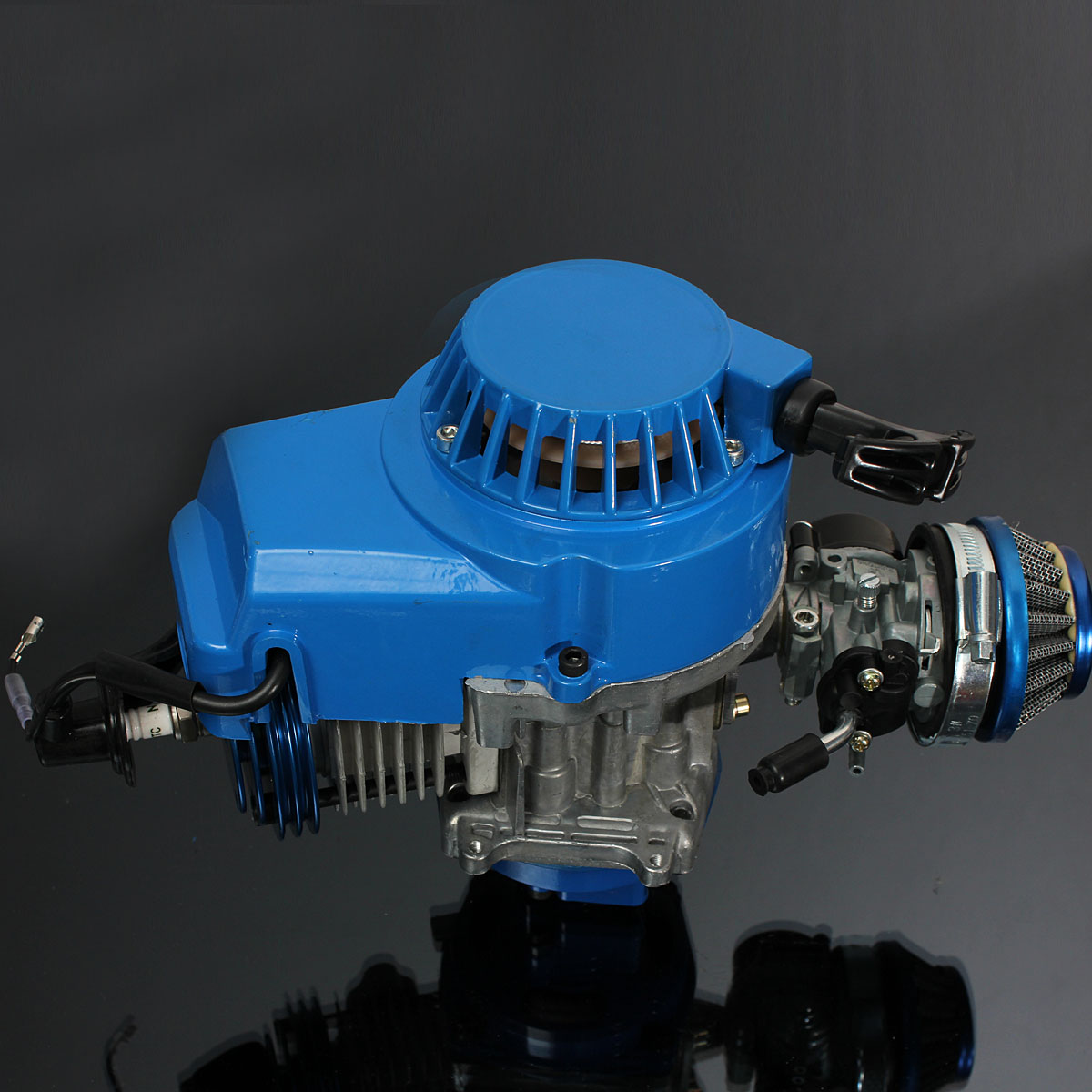 Mini 49cc 2 Stroke Air Cooled Racing Engine Manual For Motorcycle Quad Dirt Dirt Bike