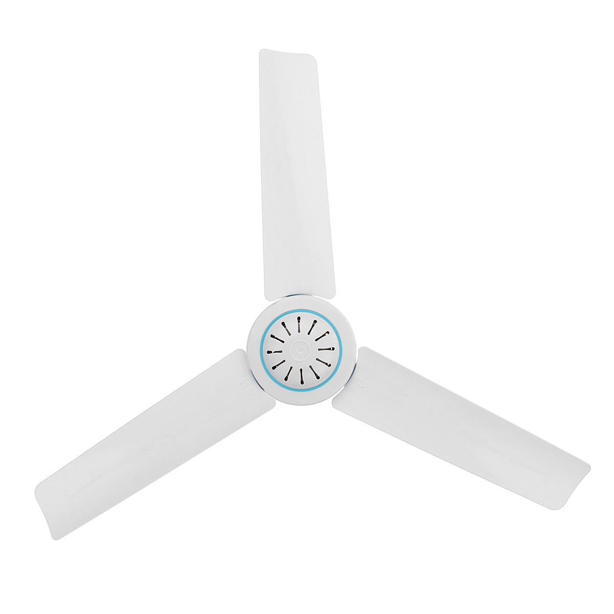 DC 12V 6W 3 Leaves Portable Ceiling Fan Mini Hanging Ceiling Fan Humidifier Cooling