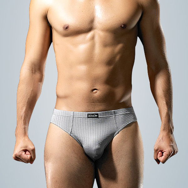 Sexy Ice Silk Soft Comfy Breathable Briefs for Men