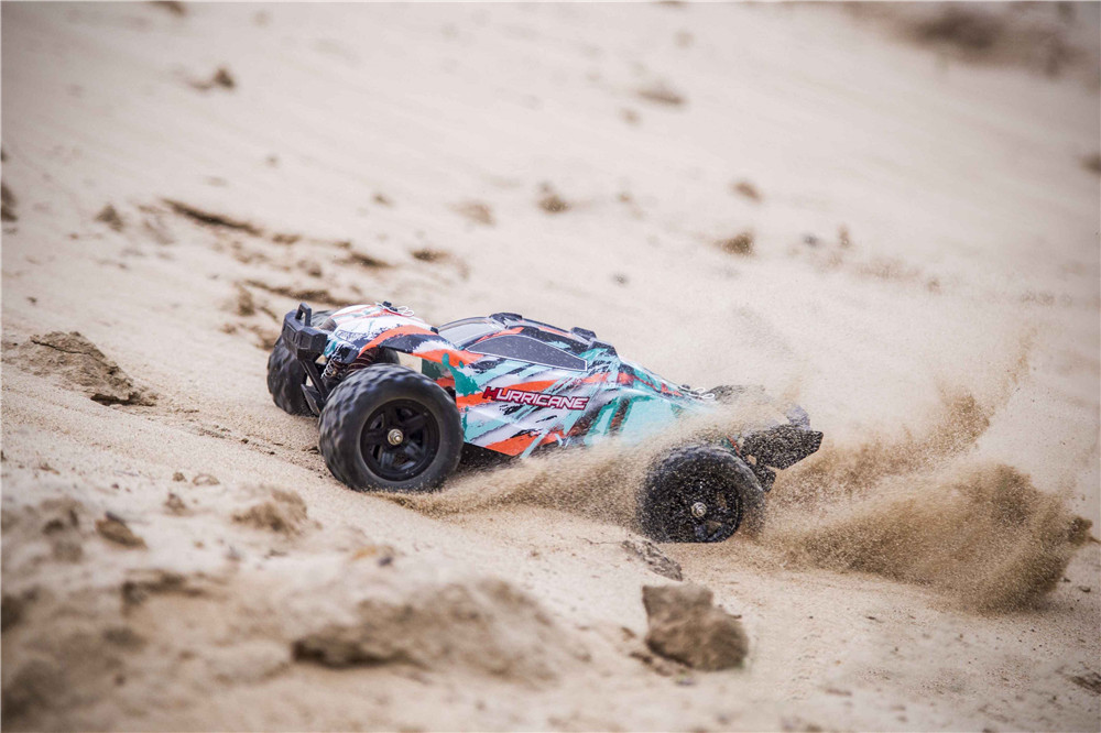 HS 18322 1/18 2.4G 4WD 36km/h RC Car Model Proportional Control Big Foot Monster Truck RTR Vehicle - Photo: 3