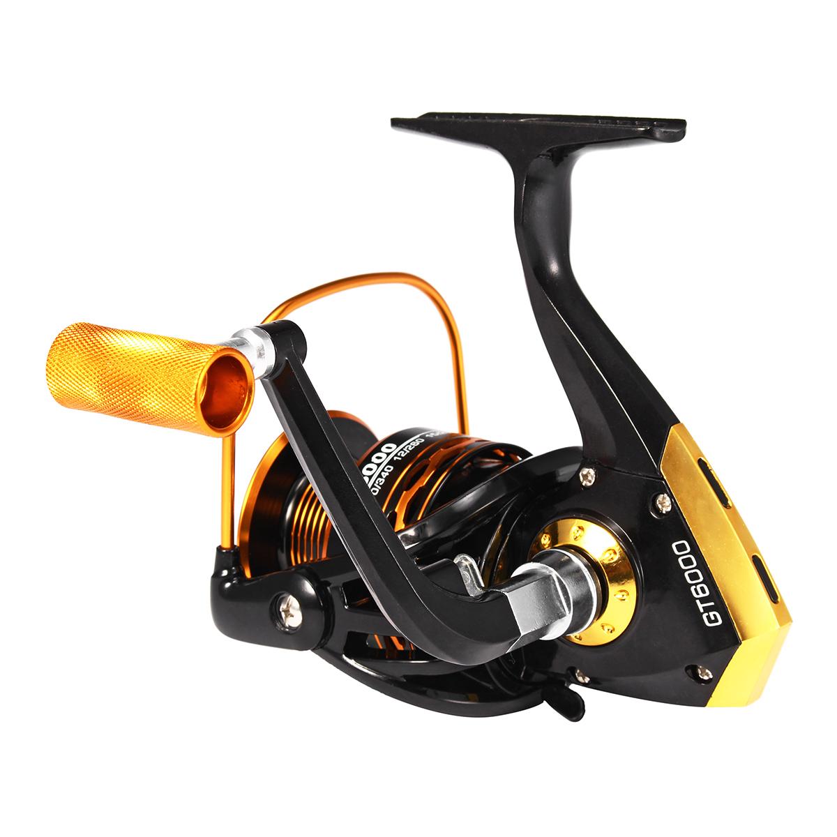 ZANLURE Metal+Plastic 4000-6000 Spinning Fishing Reel Salwater Freshwater Fishing Reel