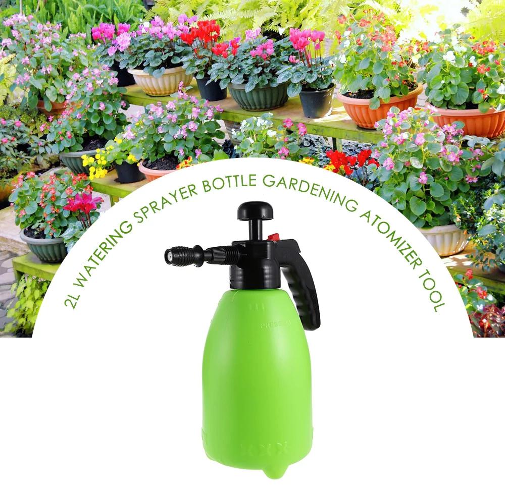 Gardening Atomizer Tool Sprinkle Watering Can, Green