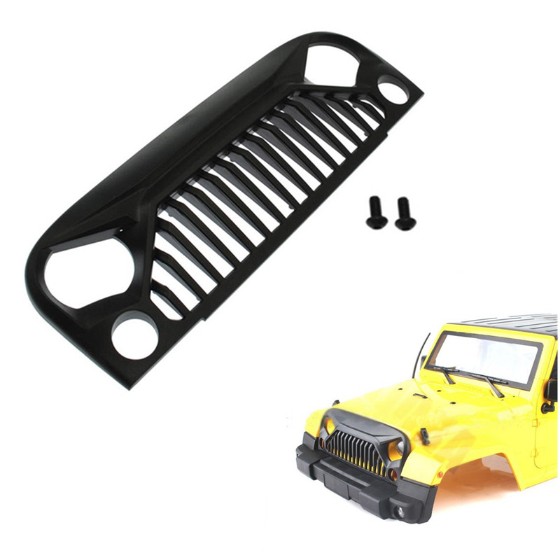 Car Xtra Speed 1/10 Plastic Angry Eyes Grill Body Fit For Jeep Body RC Car Parts