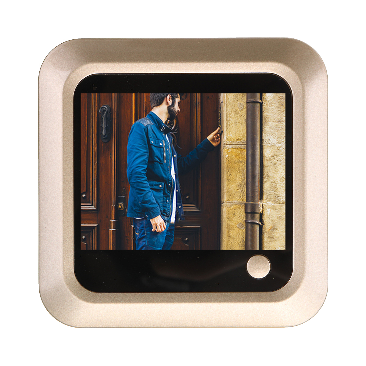 Digital LCD 2.4inch Video Doorbell Peephole Viewer Door Eye Monitoring Camera 160 Degree