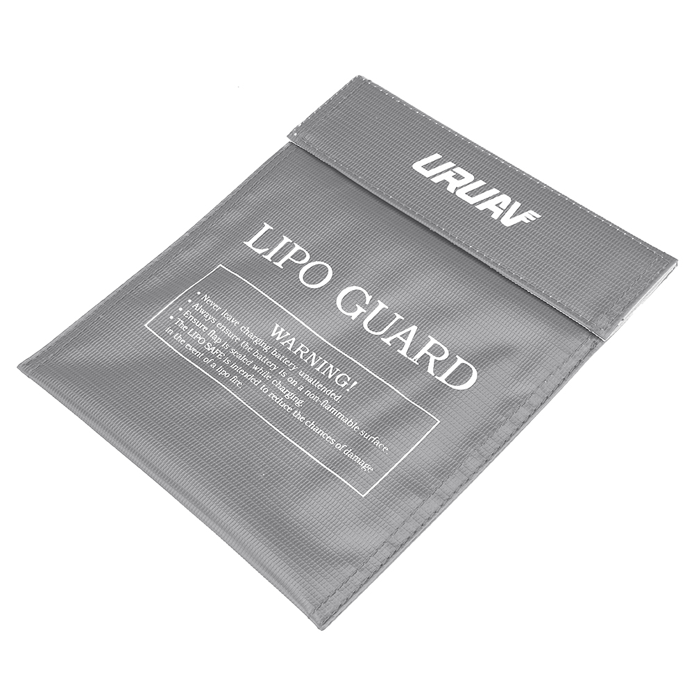 URUAV Waterproof Explosion Proof Colorful Lipo Battery Safety Bag 30X23mm - Photo: 10