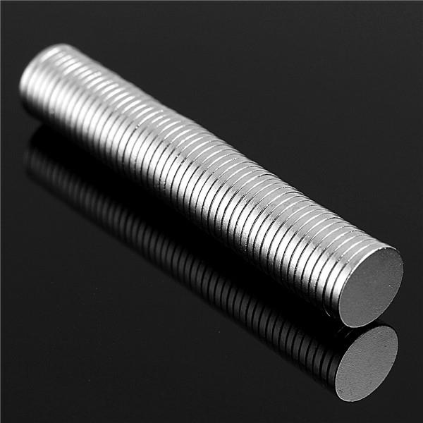 100pcs N52 Round Disc Magnets 8mmx1mm Rare Earth Neodymium Magnet