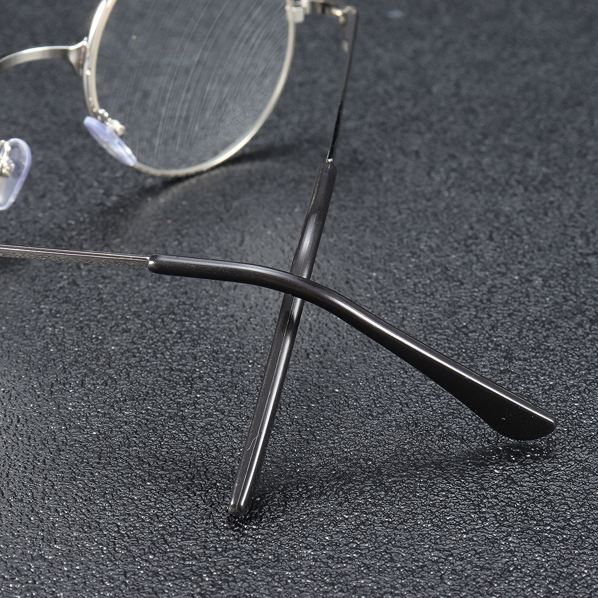 KCASA Round Metal Frame Presbyopic Best Reading Glasses