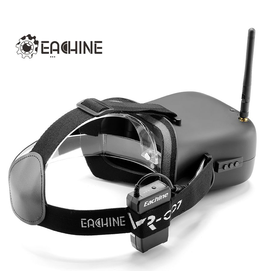 c737c0c574e5 eachine vr-007 vr007 5.8g 40ch hd fpv goggles video glasses 4.3 inch ...