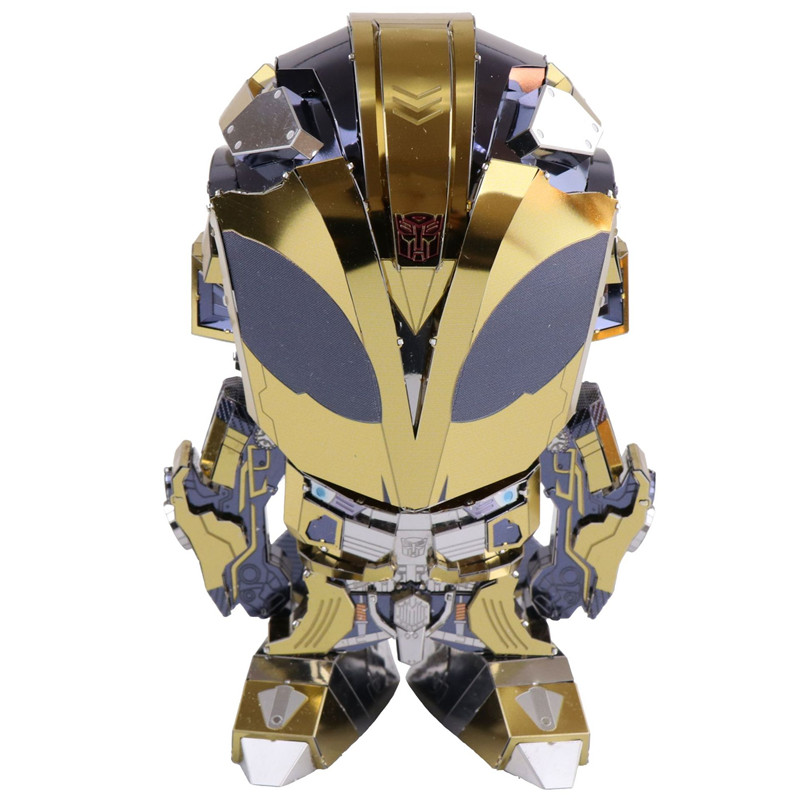 MU The Hornets Model Building DIY 3D Puzzle Stainless Steel Model Action Figure