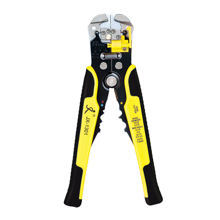 Paron® TK0742 Multifunctional Wire Strippers Terminals Crimping Tool Pliers Yellow Home DIY Tools