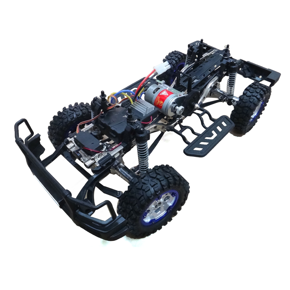 HG P402 1/10 2.4G 4WD Wheel Drive Roadster Climbing RC Car Upgrade Metal Chassis