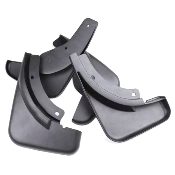 4pcs/set Car Soft Plastic Splash Guards Fender Mud Flaps Mudguard for Honda City 2015