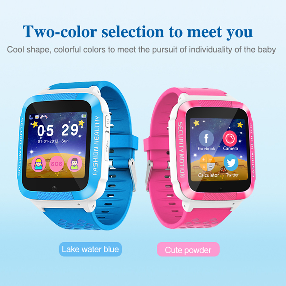 ENOCH Q15TC Kids SOS Micro Sim Card Phone Call Camera LBS Location Kids Smart Watch