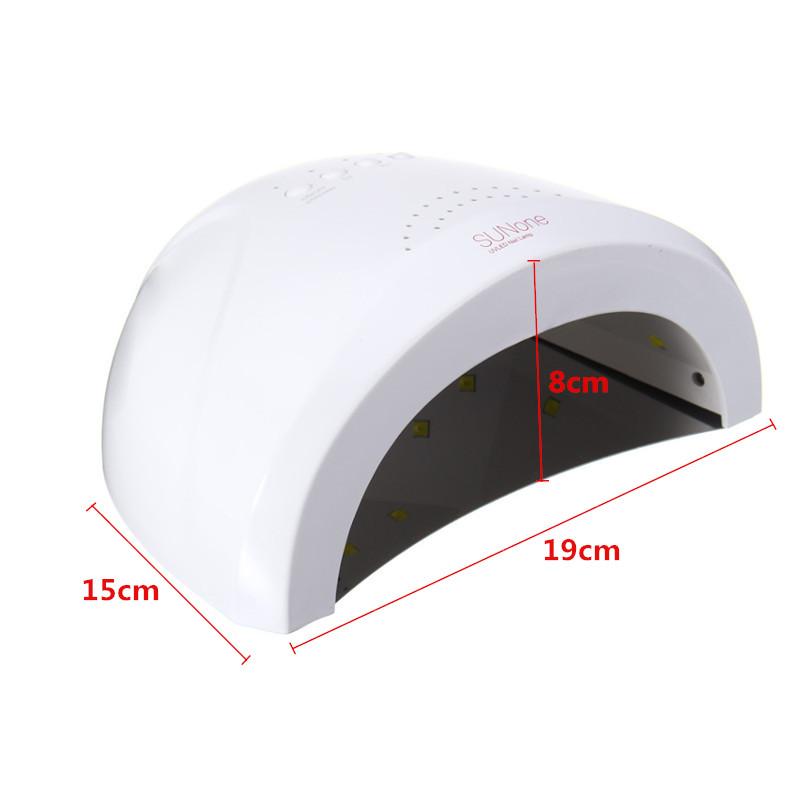 48W LED UV Nail Dryer Gel Polish Lamp