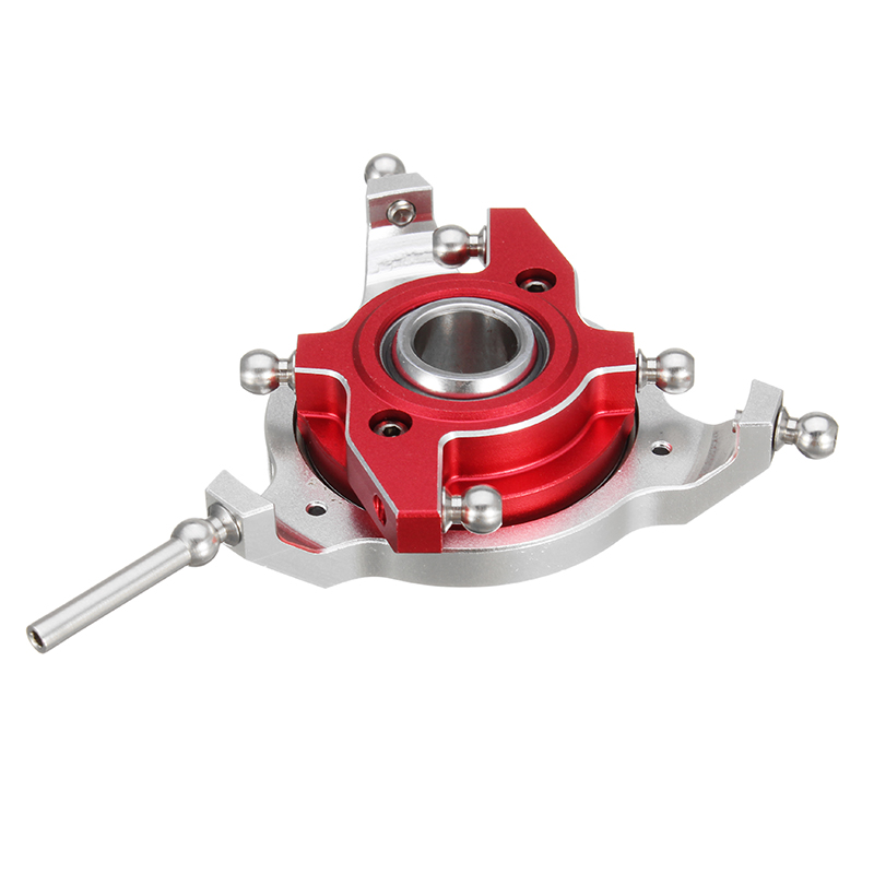 ALZRC Devil 505 FAST RC Helicopter Parts CCPM Metal Swashplate Silver