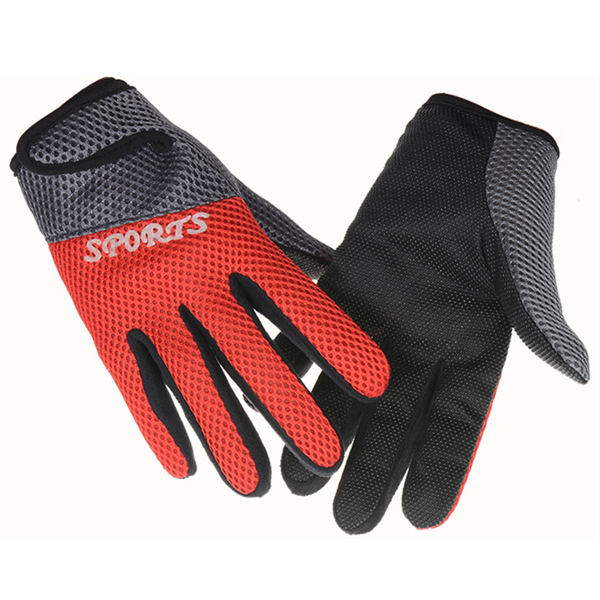 Anti-Slip Breathable Motorcycle Racing Sport Full Finger Gloves