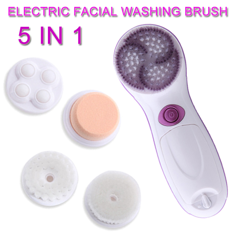 5 in 1 Electric Facial Brush Cleanser Machine Pore Cleaner