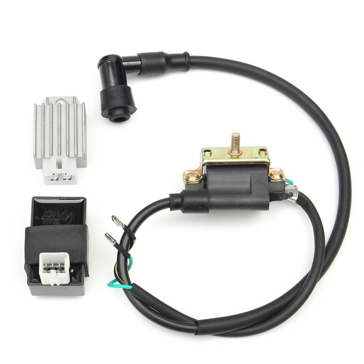 Ignition Coil+CDI+Regulator For 90cc 110cc 125cc PIT Quad Dirt Bike ATV Buggy
