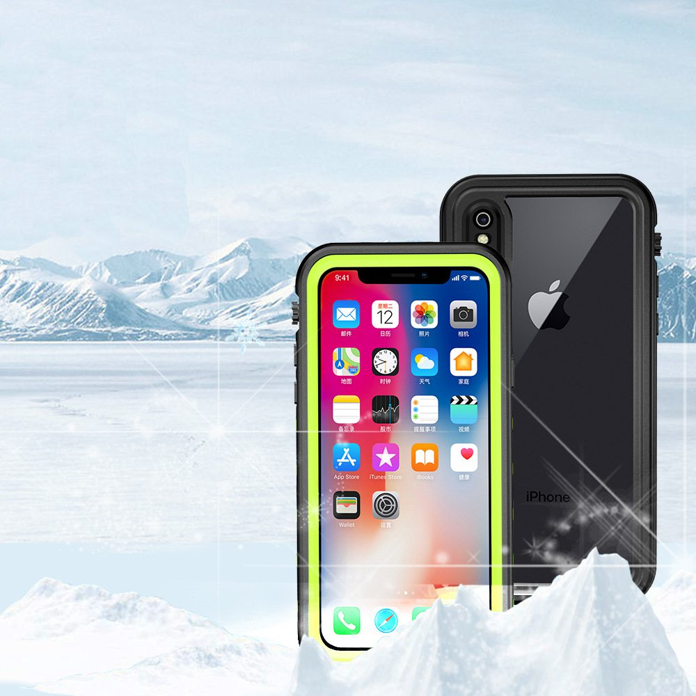 Bakeey IP68 Certified Waterproof Case For iPhone X Unde
