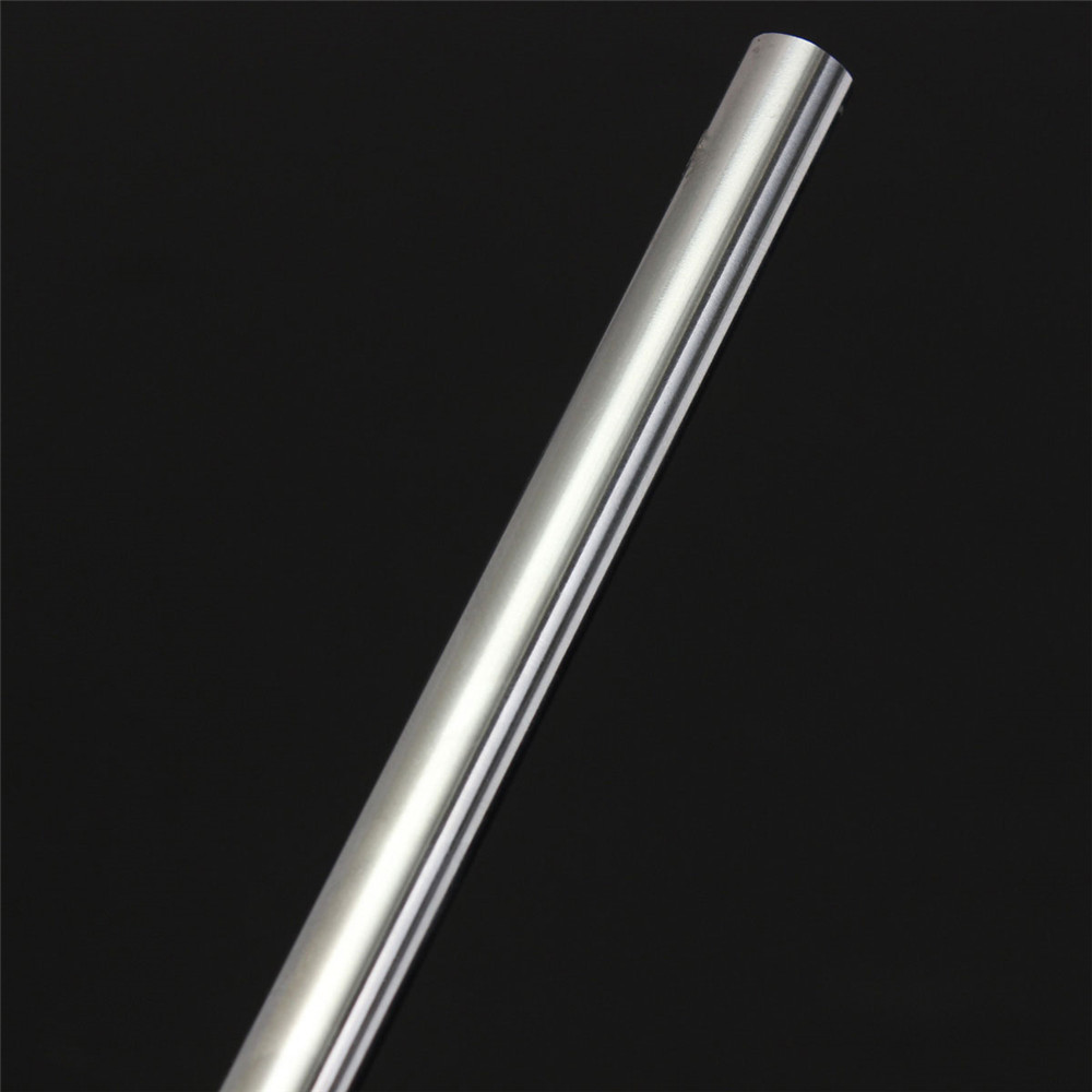 Machifit OD 10mm x 500mm Cylinder Linear Rail Linear Shaft Optical Axis Chroming GCr15