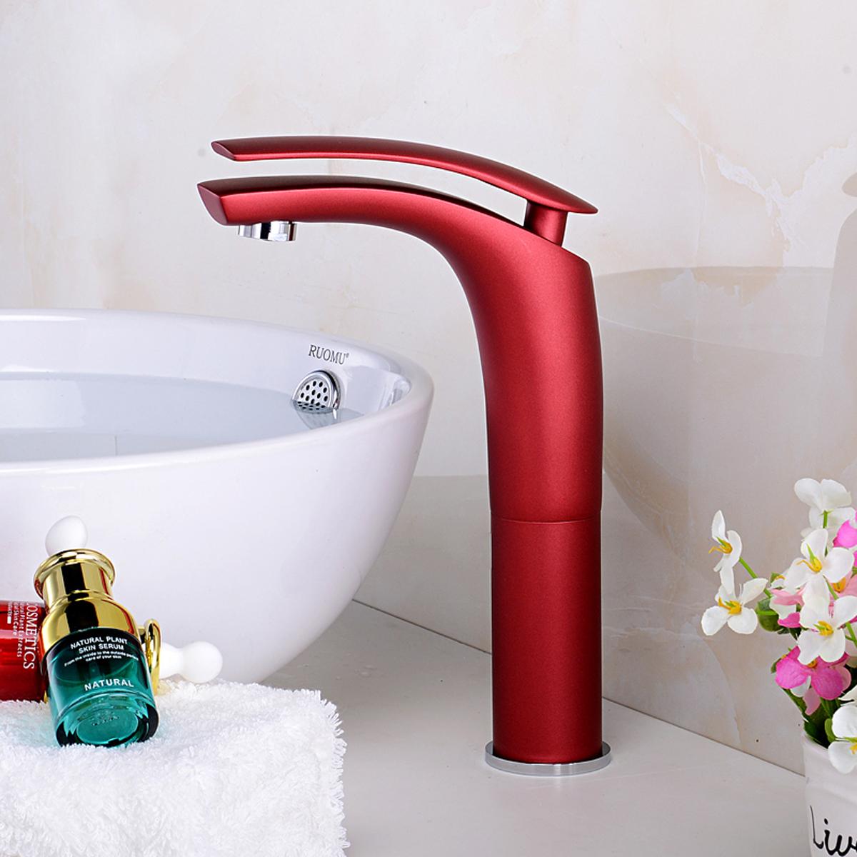 Fashion Brass Faucets Basin Sink Vanity Mixer Taps Matt Chrome