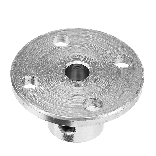 4mm Flange Coupling Steel Rigid Flange Plate Shaft Connector Optical Axis Support Fixed Seat