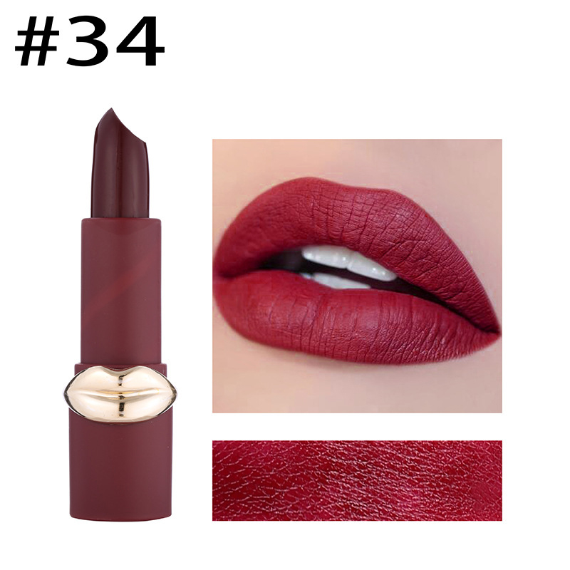 MISS ROSE 12 Color Matte Velvet Lip Stick