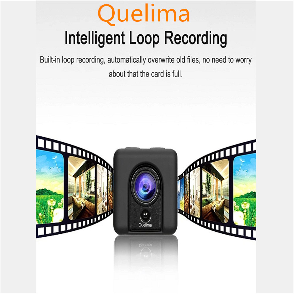 Quelima SQ20 Mini Camera Car DVR Recorder 1080P Full HD Sports Camera