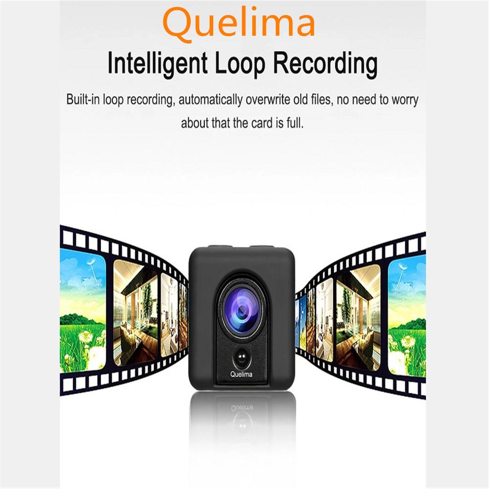 Quelima SQ20 Mini Camera Car DVR Recorder 1080P Full HD Sports Camera