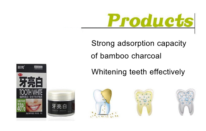 Natural bamboo Charcoal Tooth Whitening Powder Teeth Stain Tartar Removal Cleaning Gum Care