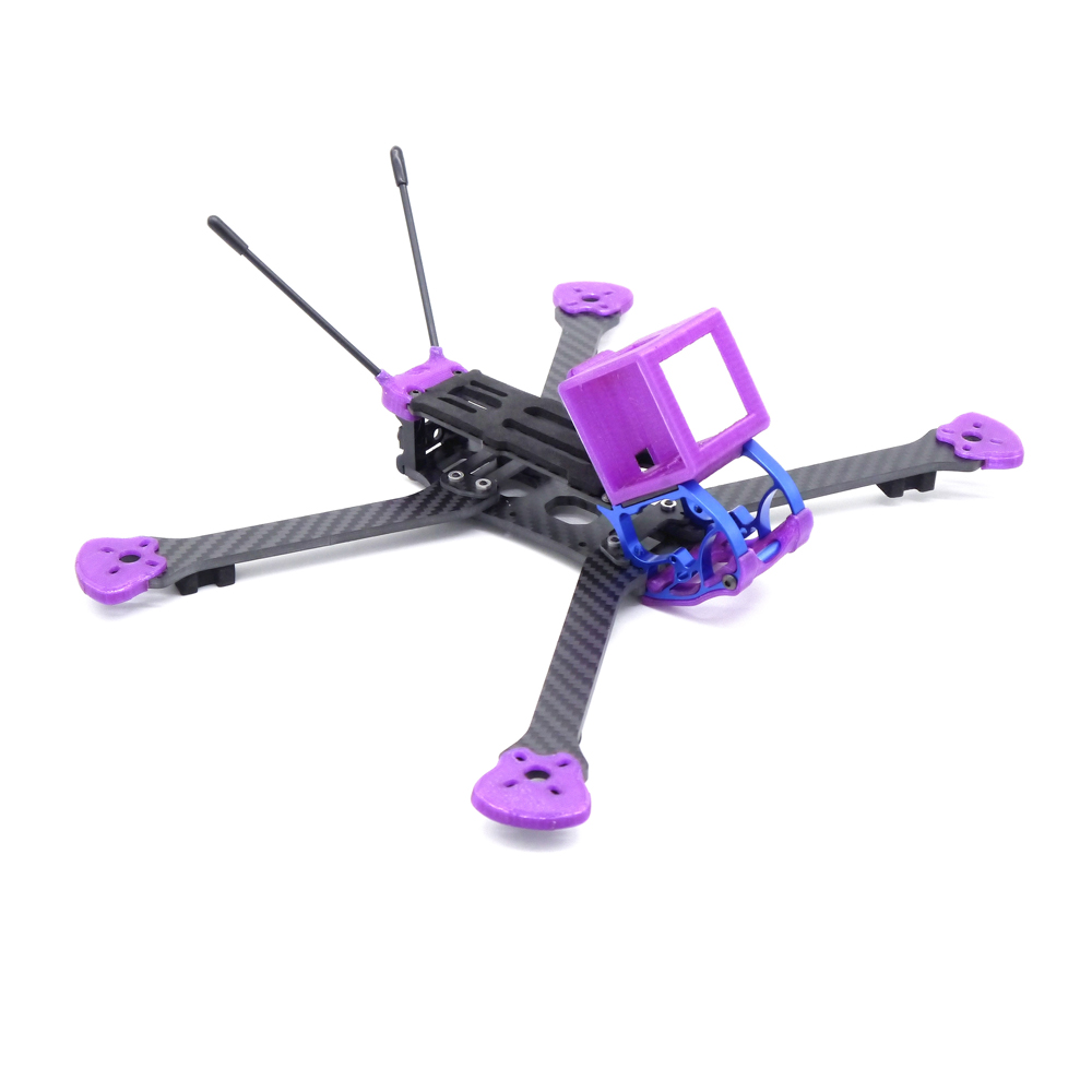 Turkey 225mm 5 Inch HX Type FPV Racing Frame Kit 4mm Arm Support Foxeer HS1177 RunCam Sparrow