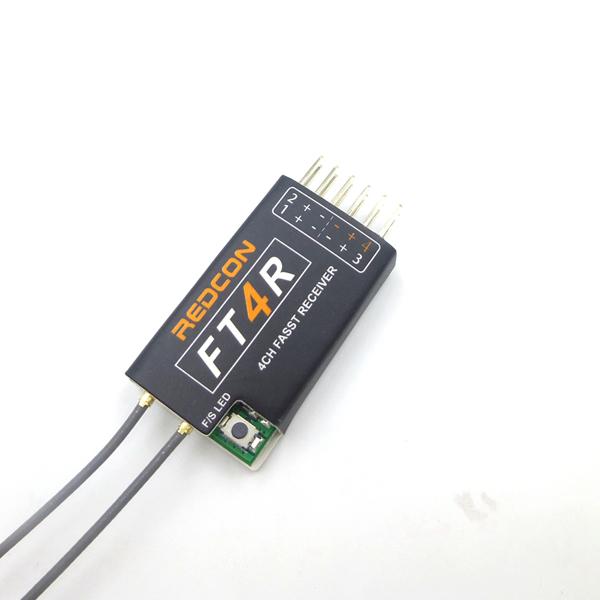 FT4R REDCON Ultralight 2.4G 4CH FASST Mini FUTABA Compatible Receiver