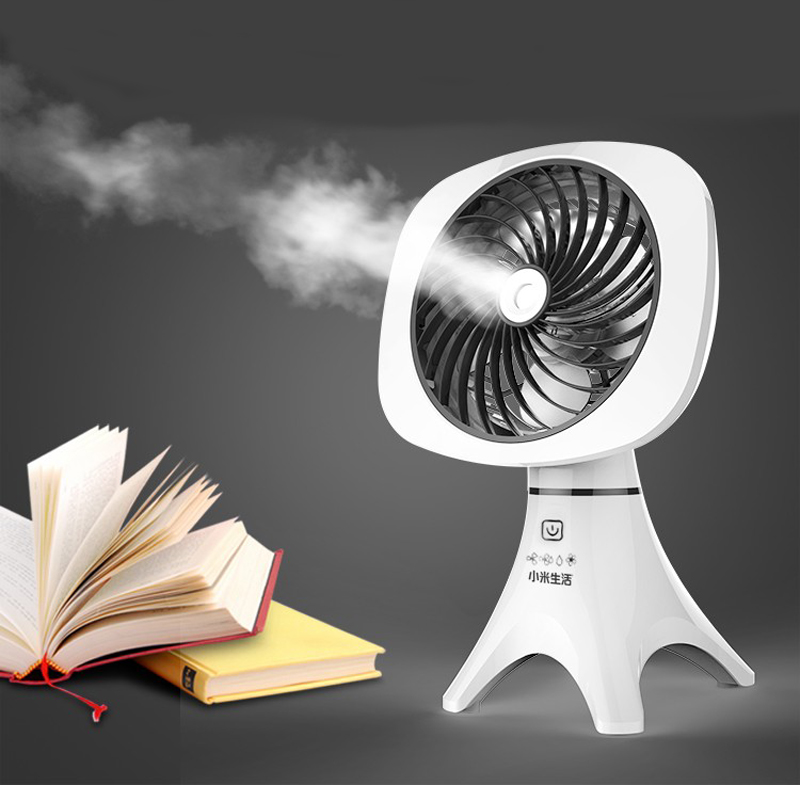 USB Mini Air Conditioner Portable Cooler Fan For Cooling Camping Home Office