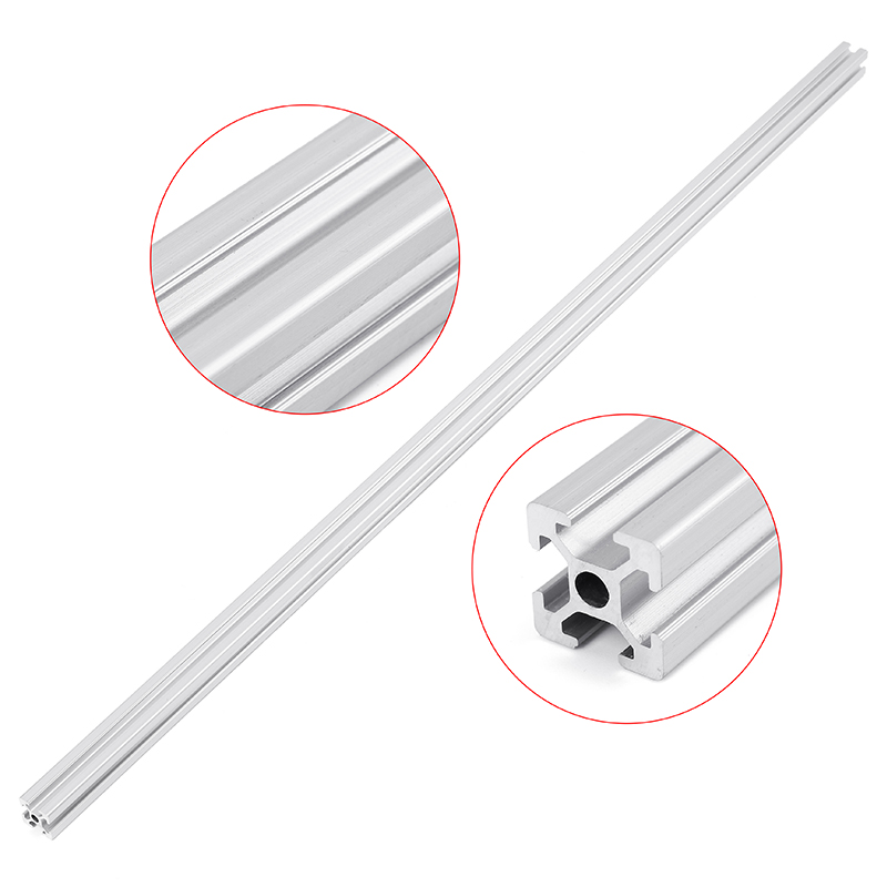 800mm Length 2020 T-Slot Aluminum Profiles Extrusion Frame for 3D Printer CNC