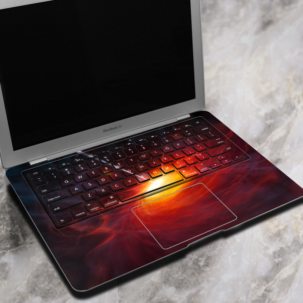 PAG Sun Light Exposure Laptop Decal Sticker Bubble Free Self-adhesive For Macbook Air 13 Inch