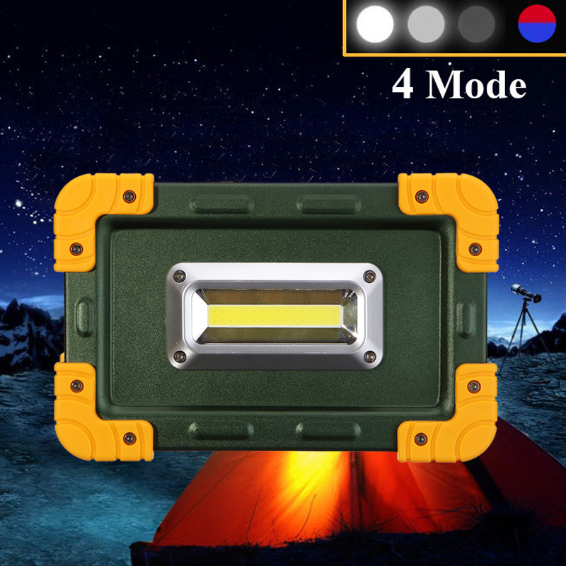 Night Bike Bicycle Light 30w Usb Cob Led Portable Rechargeable Flood Light Spot Camping Outdoor Lamp A2 Bicycle Light