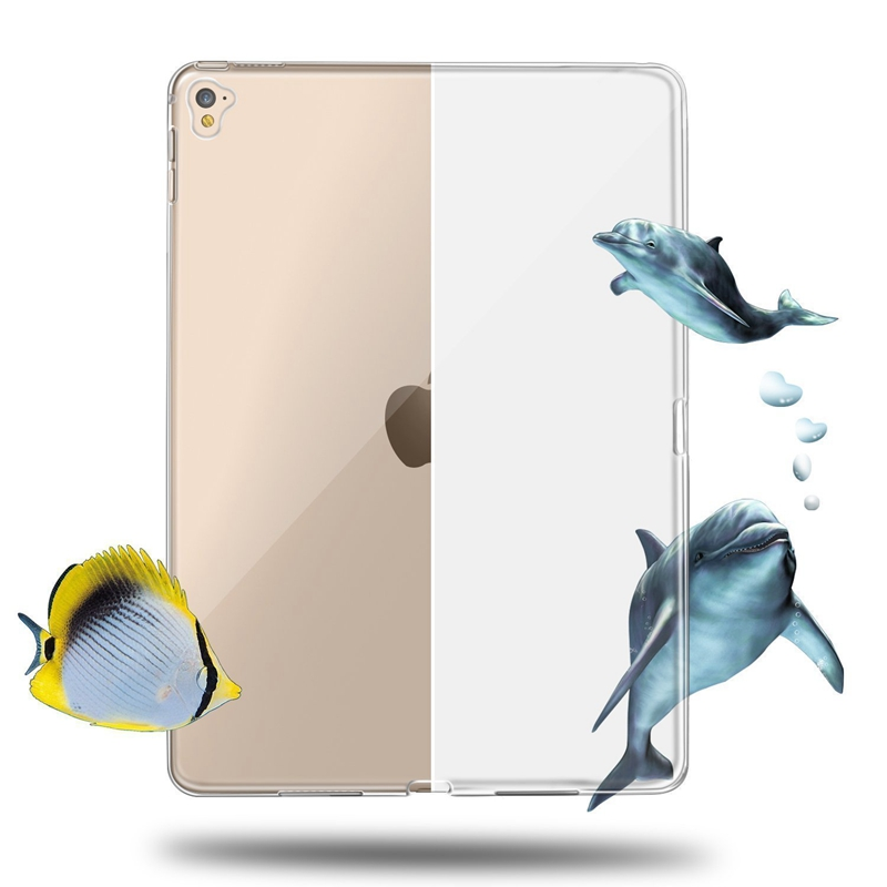 Clear Transparent Soft TPU Case For iPad Pro 9.7