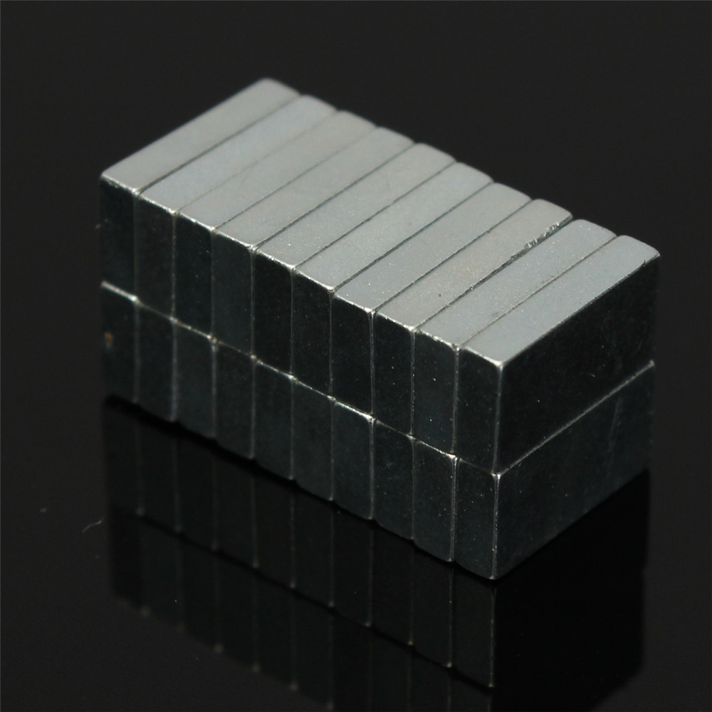 20pcs N52 Block Magnets 10x5x2mm Rare Earth Neodymium Permanent Magnet
