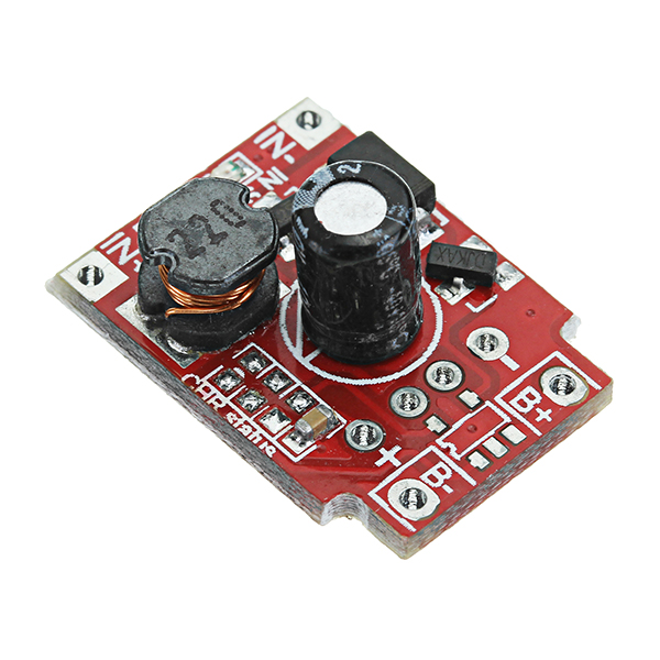 DC-DC 1.25-5V To 5V 1A Boost Power Module Dry Battery / Lithium Battery Step Up Large Power Board With Undervoltage Indicator Function Conversion Efficiency 90%