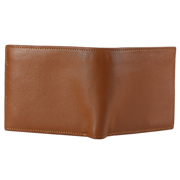 Men Genuine Leather Fashion Minimalist Business Short Wallet Multicard Card Holder With 3 Pure Color