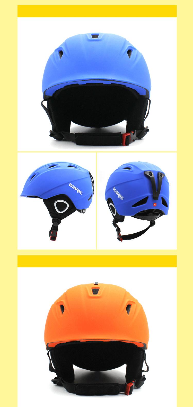 SOARED Winter Professional Kids Helmets Children Skiing Snow Skating Skateboard Helmet Sports Helmet