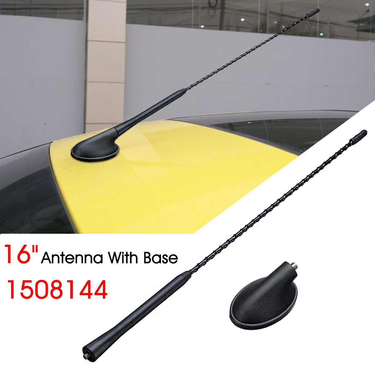 ANTENNA AERIAL AND BASE FOR FOCUS FIESTA MONDEO PUMA TRANSIT CONNECT