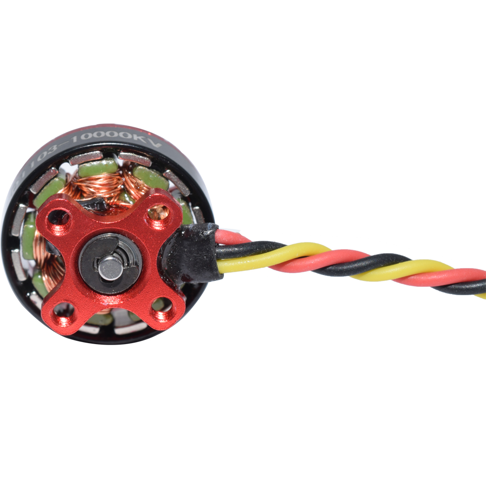 4 PCS Aurora RC D1103 1103 10000KV 1-3S Brushless Motor for RC Whoop FPV Racing Drone - Photo: 3