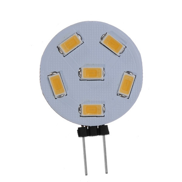 190Lm 6SMD 5050 G4 190 0.8W Car Decoration LED House Lamp Light
